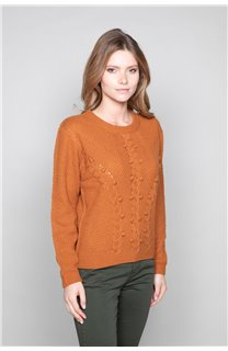 Sweater COCO Woman W19316W (47500) - DEELUXE-SHOP