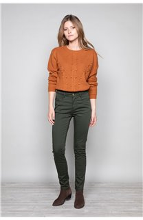 Sweater COCO Woman W19316W (47501) - DEELUXE-SHOP