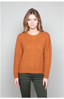 Sweater COCO Woman W19316W (47502) - DEELUXE-SHOP