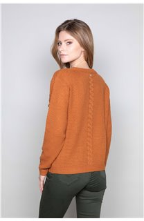 Sweater COCO Woman W19316W (47503) - DEELUXE-SHOP