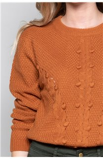 Sweater COCO Woman W19316W (47504) - DEELUXE-SHOP