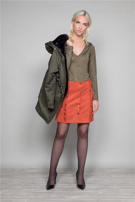Skirt Skirt VISTA Woman W19771W (47580) - DEELUXE-SHOP