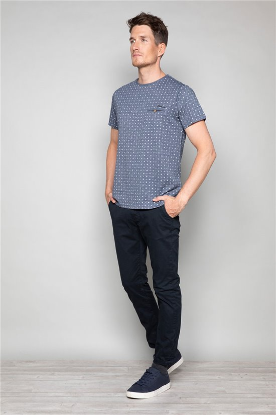 T-shirt T-shirt PASEO Man W19164 (47631) - DEELUXE-SHOP