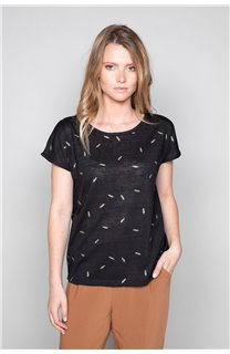 T-shirt PLUME Woman W19124W (47678) - DEELUXE-SHOP
