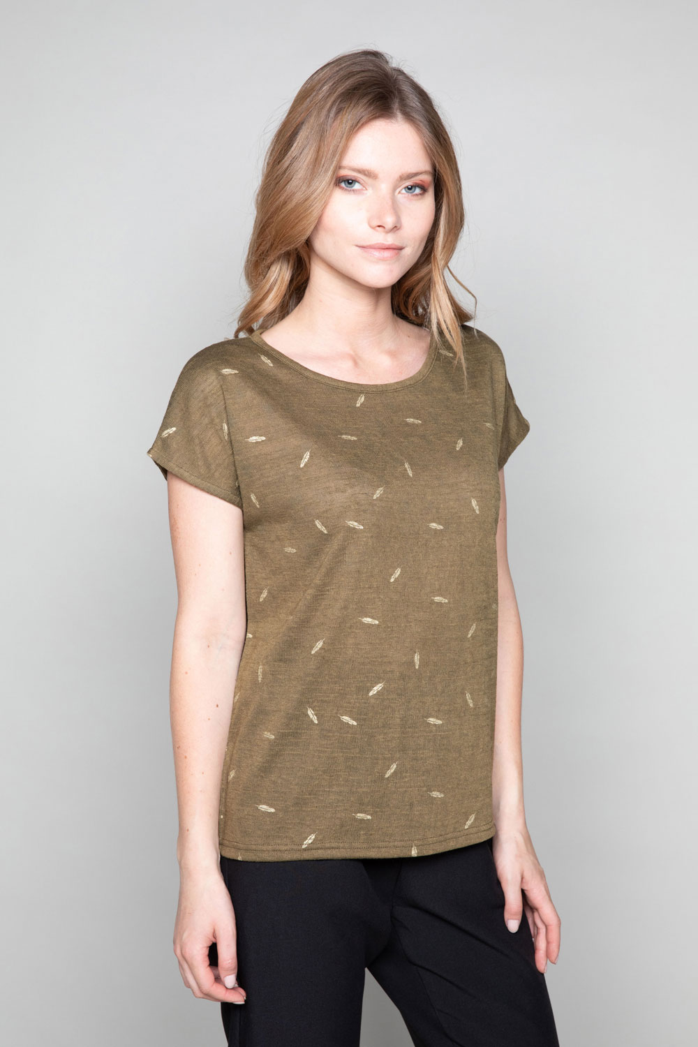 T-shirt PLUME Woman W19124W (47681) - DEELUXE-SHOP