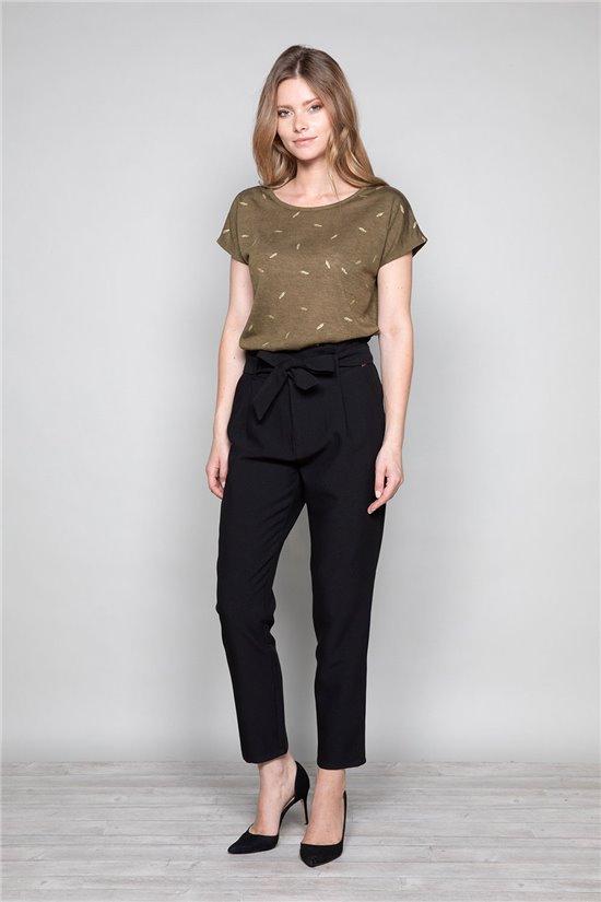 T-shirt T-shirt PLUME Woman W19124W (47681) - DEELUXE-SHOP