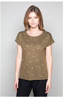 T-shirt PLUME Woman W19124W (47683) - DEELUXE-SHOP