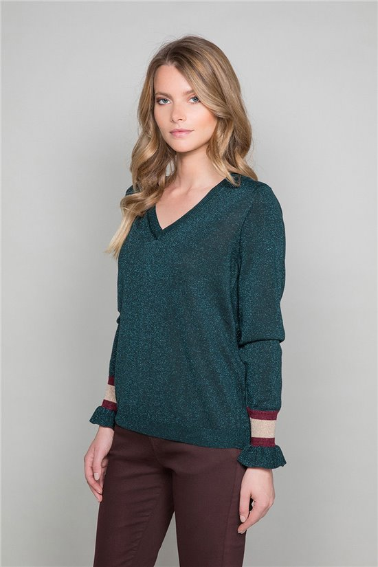 Sweater Sweater LULY Woman W19318W (47706) - DEELUXE-SHOP