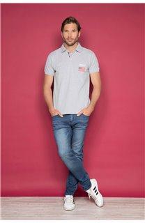 Polo shirt Polo shirt DRISKY Man W19231 (47757) - DEELUXE-SHOP