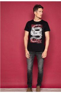 T-shirt SNAKE Man W19120 (47836) - DEELUXE-SHOP