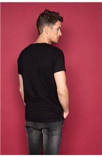 T-shirt SNAKE Man W19120 (47837) - DEELUXE-SHOP