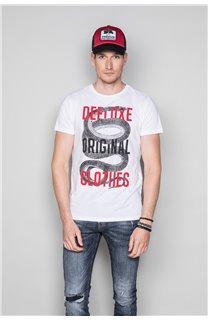 T-shirt SNAKE Man W19120 (47841) - DEELUXE-SHOP