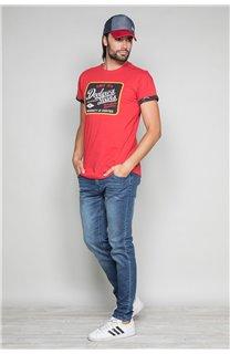 T-shirt VERNON Man W19116 (47849) - DEELUXE-SHOP