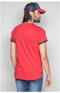 T-shirt VERNON Man W19116 (47851) - DEELUXE-SHOP