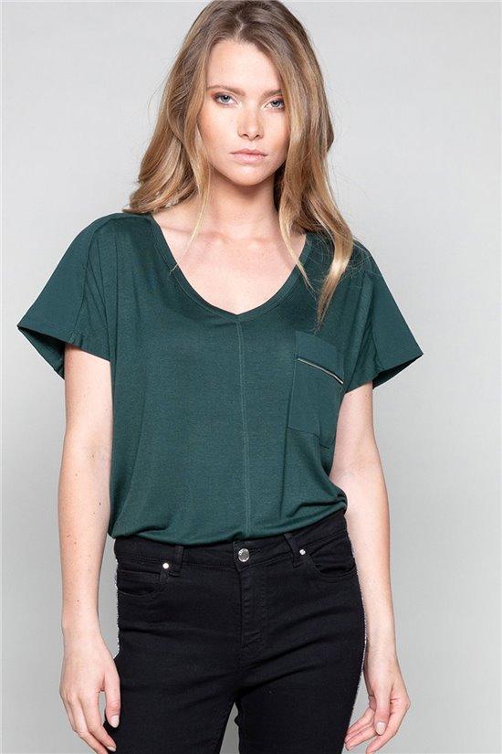T-shirt T-shirt AMY Woman W19102W (47876) - DEELUXE-SHOP