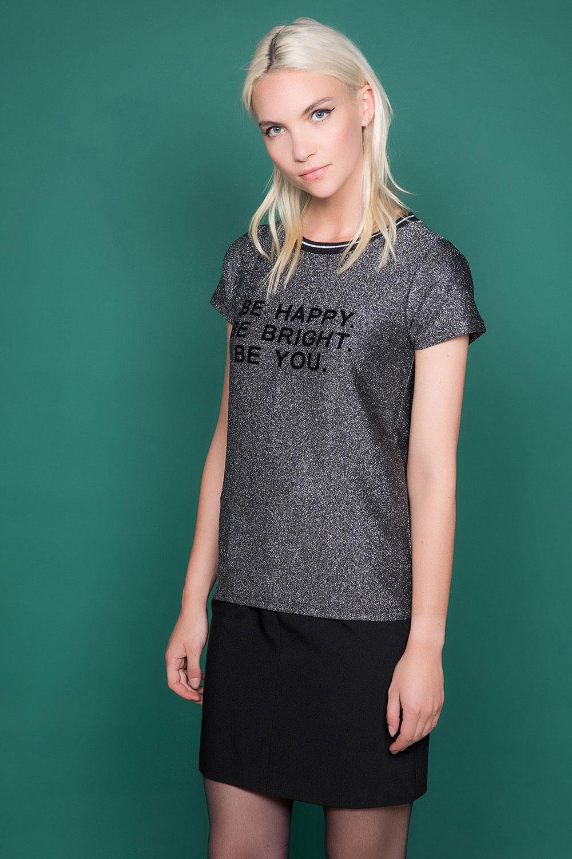 T-shirt JANETTE Woman W19107W (47903) - DEELUXE-SHOP