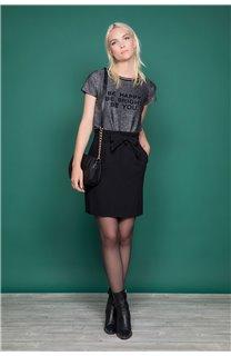 T-shirt JANETTE Woman W19107W (47904) - DEELUXE-SHOP