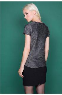 T-shirt JANETTE Woman W19107W (47906) - DEELUXE-SHOP