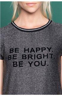 T-shirt JANETTE Woman W19107W (47907) - DEELUXE-SHOP