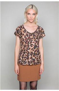 T-shirt MACHA Woman W19110W (47910) - DEELUXE-SHOP