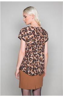 T-shirt MACHA Woman W19110W (47911) - DEELUXE-SHOP