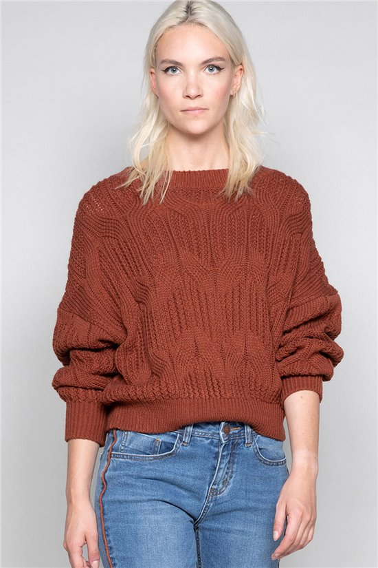 Sweater Sweater CECILY Woman W19320W (48108) - DEELUXE-SHOP