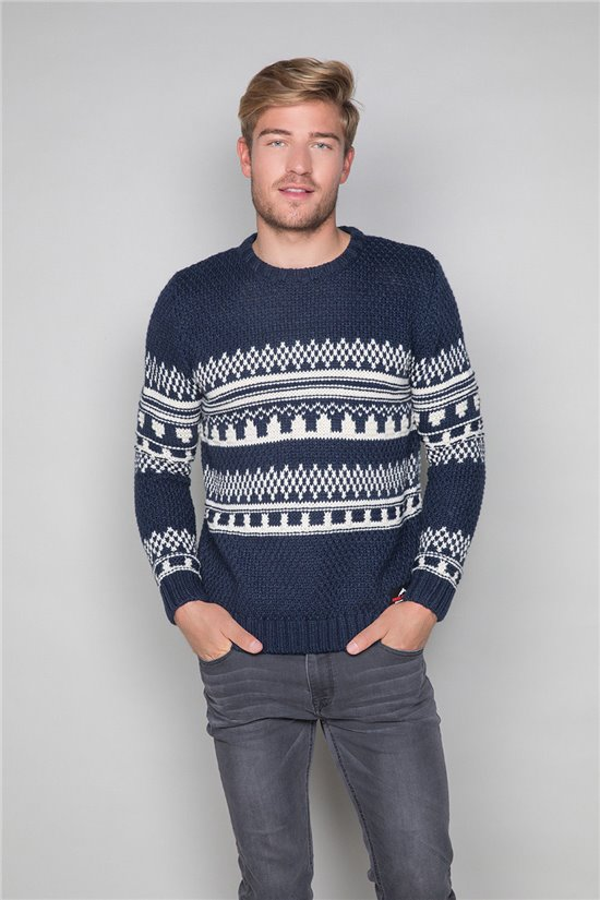 Sweater Sweater OLAF Man W19316 (48163) - DEELUXE-SHOP