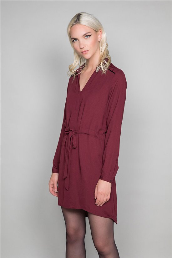 Dress VIOLETTE Woman W19226W (48192) - DEELUXE-SHOP