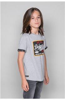 T-shirt VERNON Boy W19116B (48288) - DEELUXE-SHOP