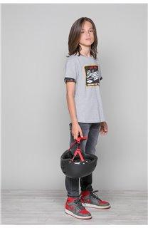 T-shirt VERNON Boy W19116B (48289) - DEELUXE-SHOP