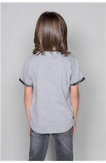 T-shirt VERNON Boy W19116B (48291) - DEELUXE-SHOP