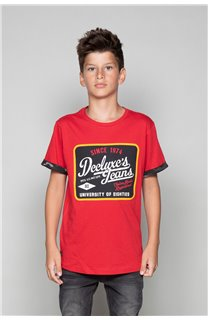 T-shirt VERNON Boy W19116B (48293) - DEELUXE-SHOP