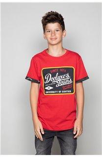 T-shirt VERNON Boy W19116B (48295) - DEELUXE-SHOP