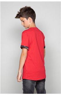 T-shirt VERNON Boy W19116B (48296) - DEELUXE-SHOP