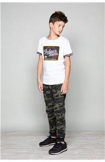T-shirt VERNON Boy W19116B (48299) - DEELUXE-SHOP