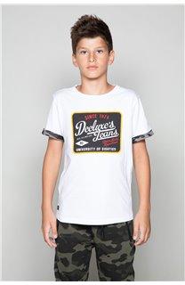 T-shirt VERNON Boy W19116B (48300) - DEELUXE-SHOP