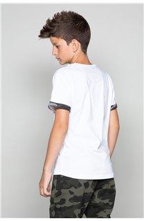 T-shirt VERNON Boy W19116B (48301) - DEELUXE-SHOP