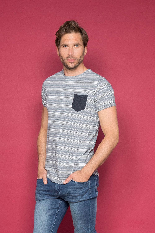 T-shirt ADKINS Man W19121 (48303) - DEELUXE-SHOP