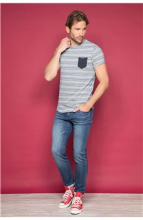 T-shirt ADKINS Man W19121 (48304) - DEELUXE-SHOP