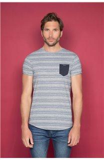 T-shirt ADKINS Man W19121 (48305) - DEELUXE-SHOP