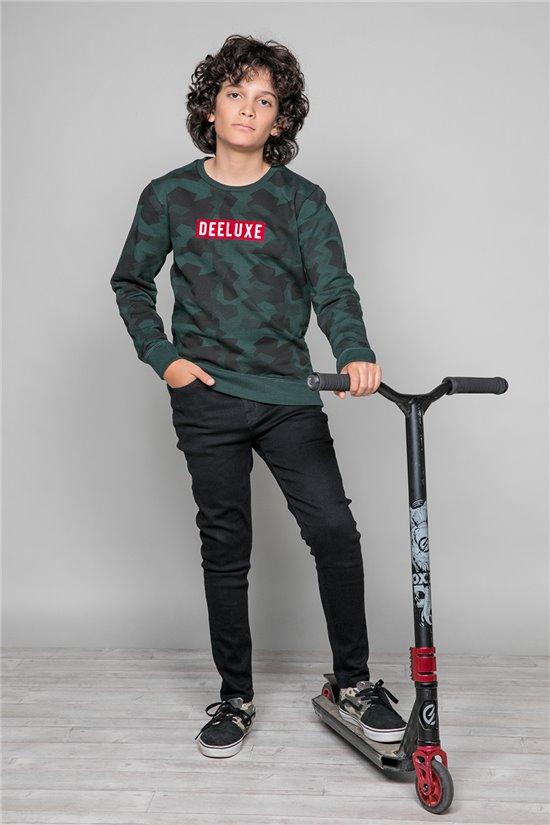 Sweatshirt Sweatshirt HEATHENS Boy W19536B (48338) - DEELUXE-SHOP