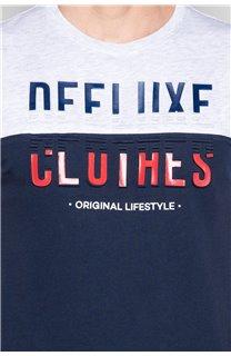 T-shirt SPORTY Man W19168 (48357) - DEELUXE-SHOP