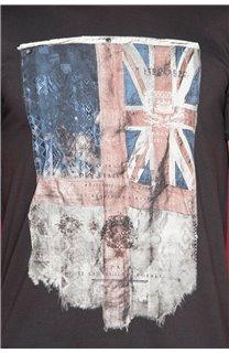 T-Shirt FLAGY Garçon W18160B (48358) - DEELUXE