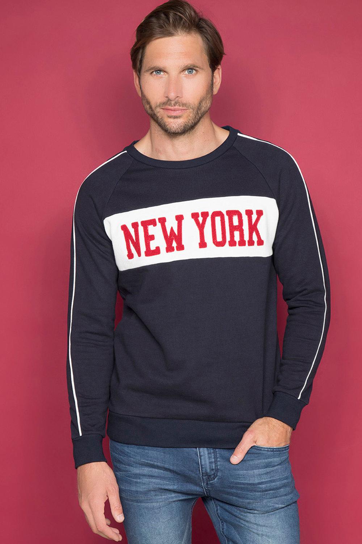 Sweatshirt MANHATTAN Man W19530 (48385) - DEELUXE-SHOP
