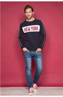 Sweatshirt MANHATTAN Man W19530 (48386) - DEELUXE-SHOP