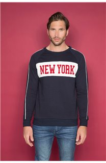 Sweatshirt MANHATTAN Man W19530 (48387) - DEELUXE-SHOP