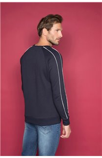 Sweatshirt MANHATTAN Man W19530 (48388) - DEELUXE-SHOP