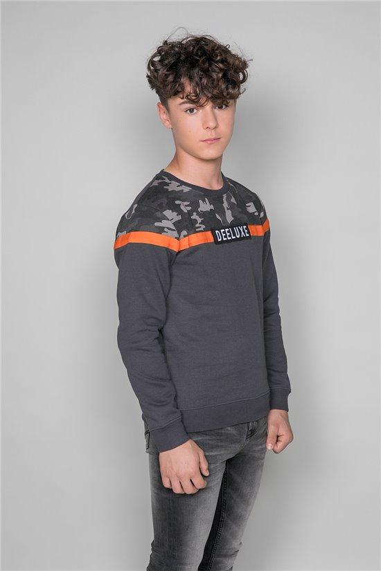 Sweatshirt FIRE Boy W19528B (48420) - DEELUXE-SHOP