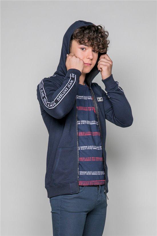 Sweatshirt COBALT Boy W19516B (48445) - DEELUXE-SHOP