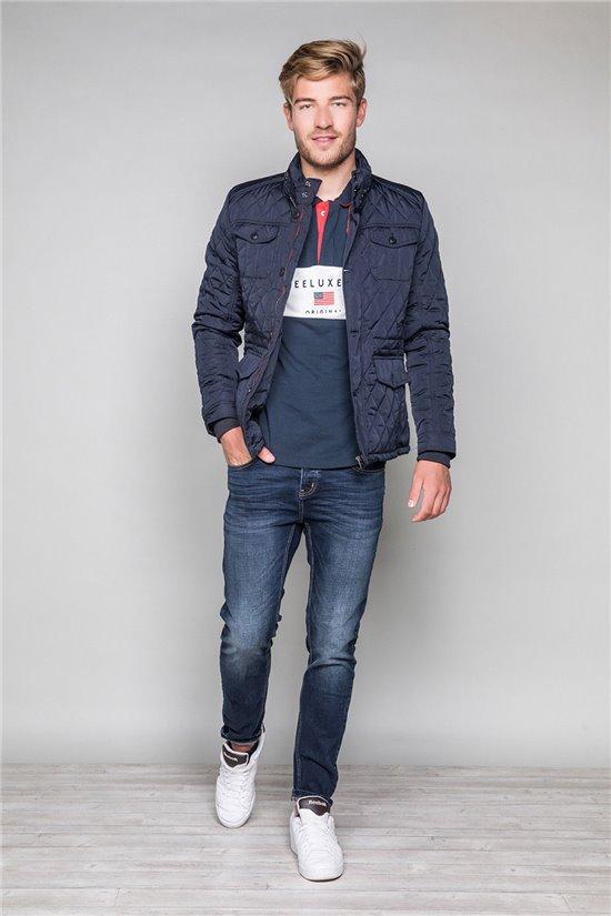 Polo shirt BRANDY Man W19222 (48460) - DEELUXE-SHOP
